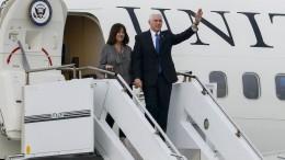 Nordkorea ließ Treffen mit Vize Pence offenbar kurzfristig platzen