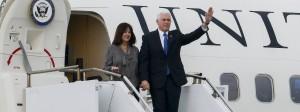 Vize-Präsident Mike Pence und seine Frau
