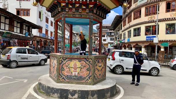 Zeichen aus Bhutan