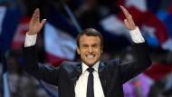 Die Rettung naht? Emmanuel Macron auf dem Weg zur französischen Präsidentschaft