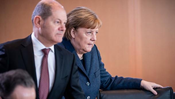 Deutsche mit Krisenmanagement der Koalition zufrieden