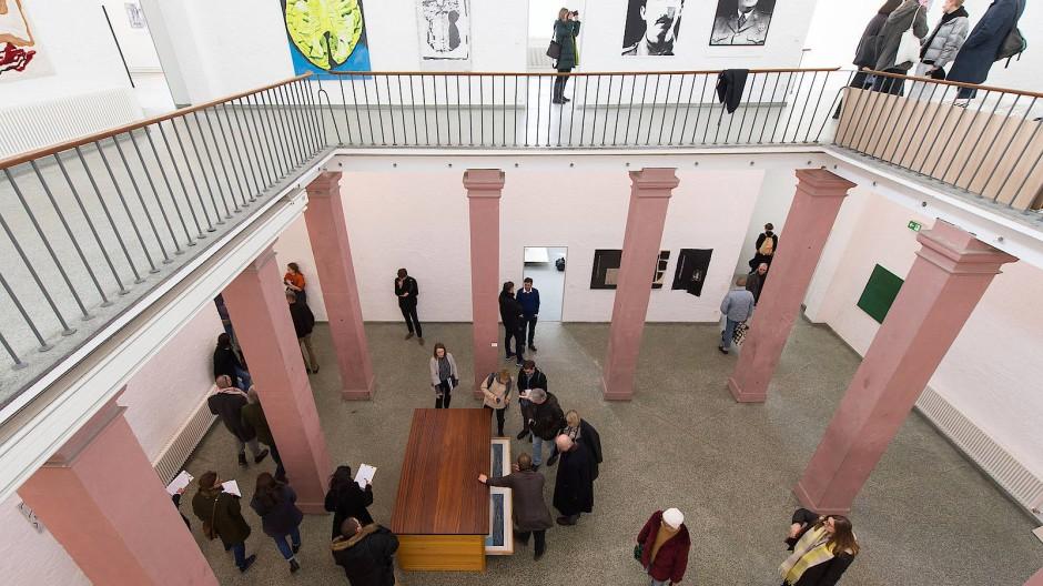 Ein Tätigkeitsfeld von Angela Dorn: Die Frankfurter Städelschule