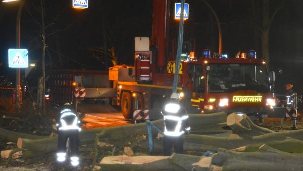"Sturmtief ""Zeetje"" verursacht Schäden im Norden"
