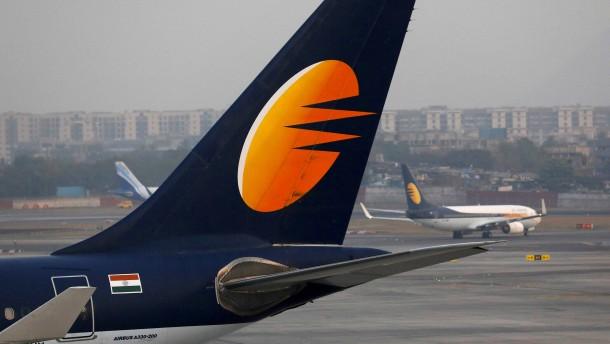 Lufthansa-Partner Jet Airways stemmt sich gegen die Pleite