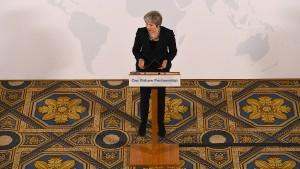 Premierministerin May enttäuscht Hoffnung auf klare Brexit-Position