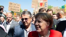 Merkel verteilt an AKK keine guten Noten