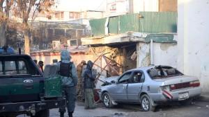 Entsetzen nach Taliban-Anschlag