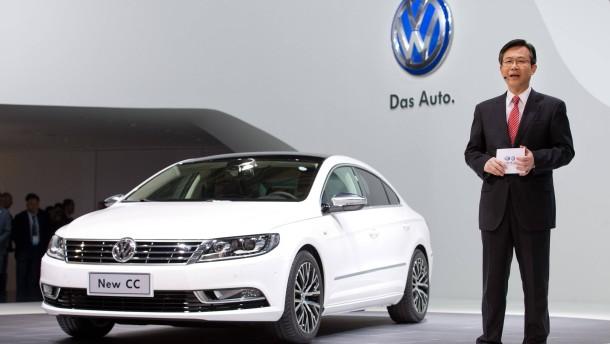 Deutsche Hersteller fahren  in China weiter an der Spitze