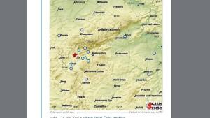 Erdbeben erschüttert das Vogtland