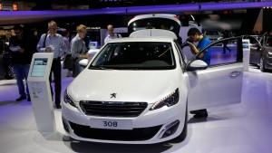Peugeot-Citroën feilt an chinesischer Achse