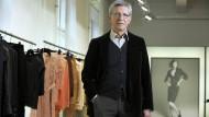 Gerd Strehle, heute Aufsichtsrats-Chef von Strenesse, im Münchener Showroom.