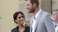 Ihr Kind wird in der Thronfolge an sechster Stelle stehen: Prinz Harry und Herzogin Meghan im Babyfieber.
