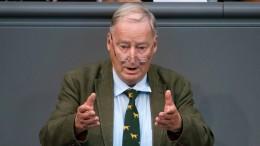 """AfD-Chef Gauland wirft Seehofer """"DDR-Rhetorik"""" vor"""