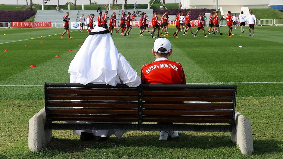 Winter Trainingslager des FC Bayern in Qatar