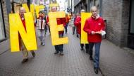 Starke NEE-Kampagne: Viele Niederländer sind gar nicht erst zur Wahl gegangen – EU-Befürworter sind sie deshalb nicht.