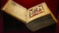 Ein Höhepunkt der Ausstellung: Die Manessische Liederhandschrift