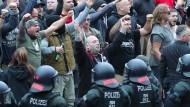 Die Ausschreitungen in Chemnitz haben bundesweit für Schlagzeilen gesorgt.