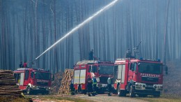 Rettungskräfte setzen zum Gegenschlag an
