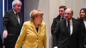 Weiteres Spitzentreffen von Union und SPD am 3. Januar
