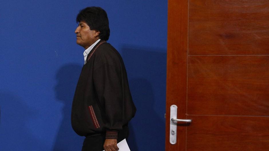 Boliviens Ex-Präsident Evo Morales
