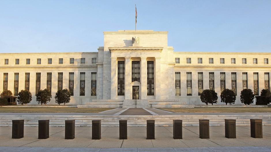 Der Sitz der amerikanischen Zentralbank in Washington