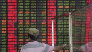 Börsen in China stabilisieren sich abermals
