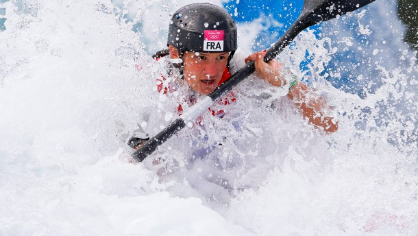 Kanu, Slalom: Damen, Kajak-Einer