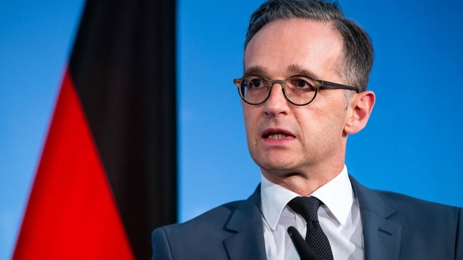 Bundesaußenminister Heiko Maas hat sich für die Nato ausgesprochen.