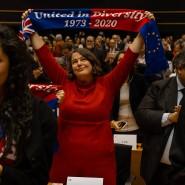 """Verträumter Blick zum Abschied in Brüssel: """"Vereint in der Diversität"""""""