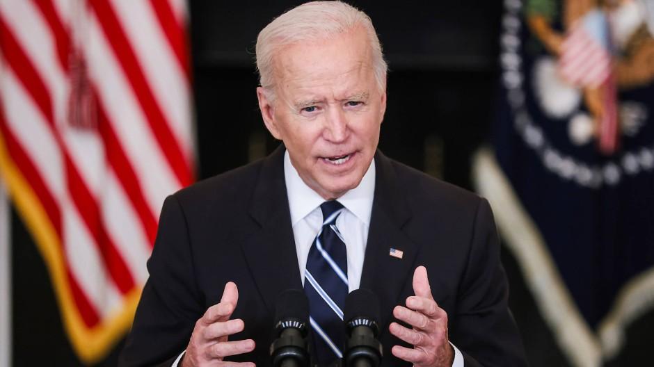Der amerikanische Präsident Joe Biden will stärker gegen die Delta-Variante vorgehen.