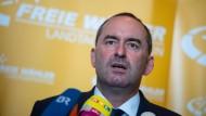 Hubert Aiwanger, Chef der Freien Wähler, will seine Partei in den Bundestag führen.