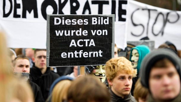 Proteste gegen ACTA