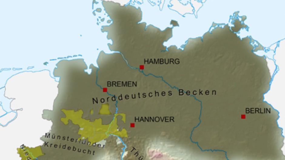 Umstrittene Gasforderung Wo Sich Fracking In Deutschland Lohnen