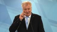 """Deutschlands neuer Innenminister Horst Seehofer spricht Klartext: """"Nein. Der Islam gehört nicht zu Deutschland."""""""