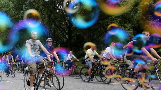 Deutsche Städte nicht fahrradfreundlich