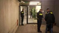 Das Redaktionsgebäude des Sender NOS in Hilversum kurz nach dem Vorfall