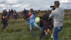 Tretende ungarische Kamerafrau freigesprochen