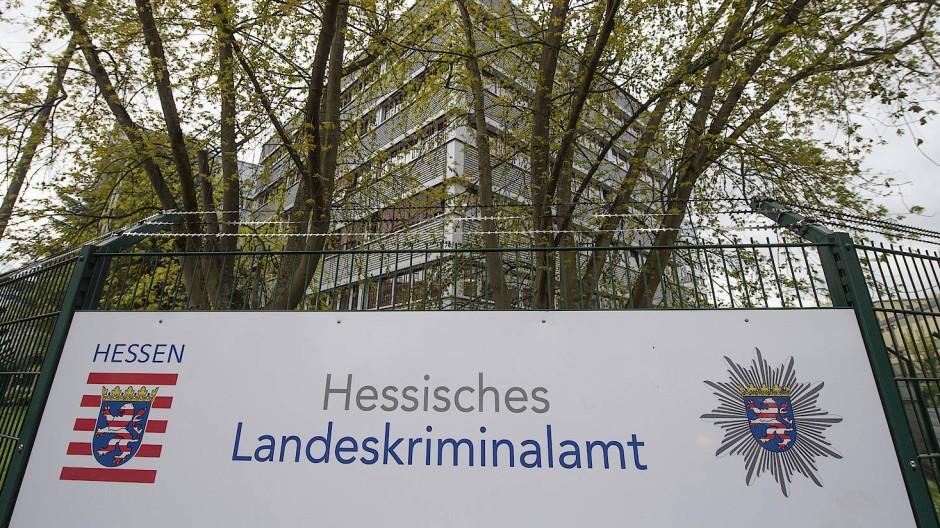 Die Zentrale des Hessischen Landeskriminalamtes (LKA) in Wiesbaden