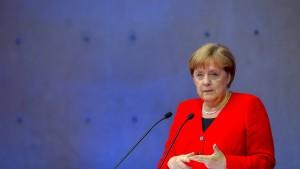 Merkel will CO2-Neutralität bis 2050