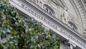 Schweizer Notenbank im Anlagenotstand