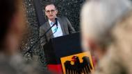 Außenminister Heiko Maas spricht zu deutschen Soldaten auf der Luftwaffenbasis Al-Asrak
