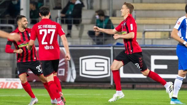 Freiburg träumt jetzt sogar vom Europapokal