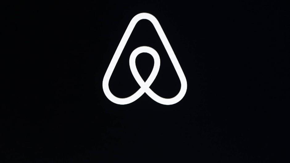Das Logo der Reiseplattform Airbnb