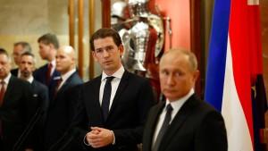 Österreich beschuldigt Russland der Spionage