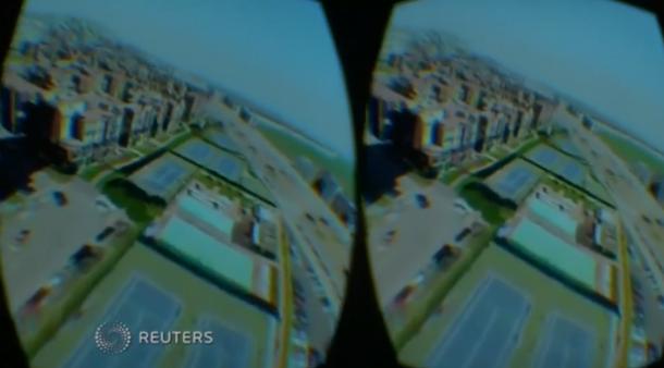 virtuelle realit t fliegen wie ein vogel mit dem birdly bird simulator technik motor faz. Black Bedroom Furniture Sets. Home Design Ideas
