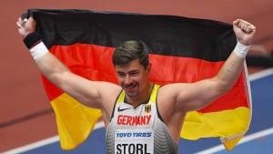 Kugelstoßer Storl rettet deutsche Medaillen-Bilanz