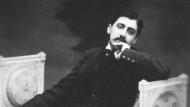 Der französische Schriftsteller Marcel Proust
