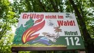 Erhöhte Waldbrandgefahr in weiten Teilen Deutschlands