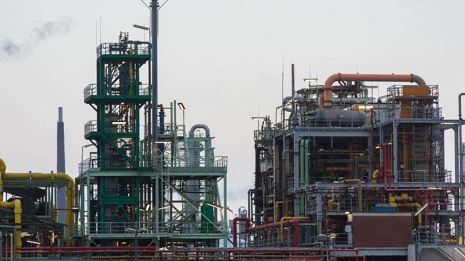 Industriepark Höchst: Anwohner wurden aufgefordert sich nicht im Freien aufzuhalten.