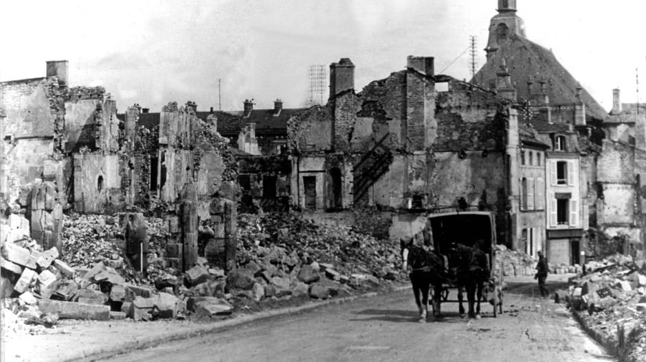 Vor hundert Jahren, am 21. Februar 1916, traten die deutschen Truppen zur Offensive auf Verdun an. Die Stadt Verdun blieb von der Schlacht nicht unberührt.